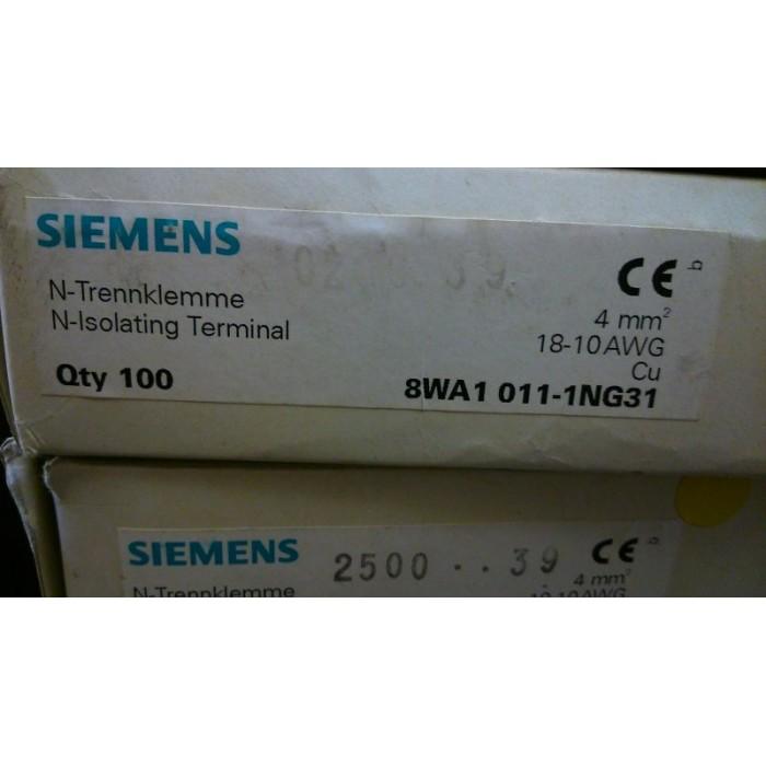 Siemens 8WA1011-1NG31 N-Trennklemme