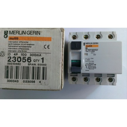 23056 Merlin Gerin 4x100 300mA