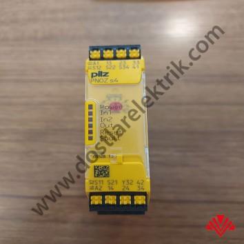 751104 PNOZ s4 C 24VDC 3 n/o 1 n/c - Pilz